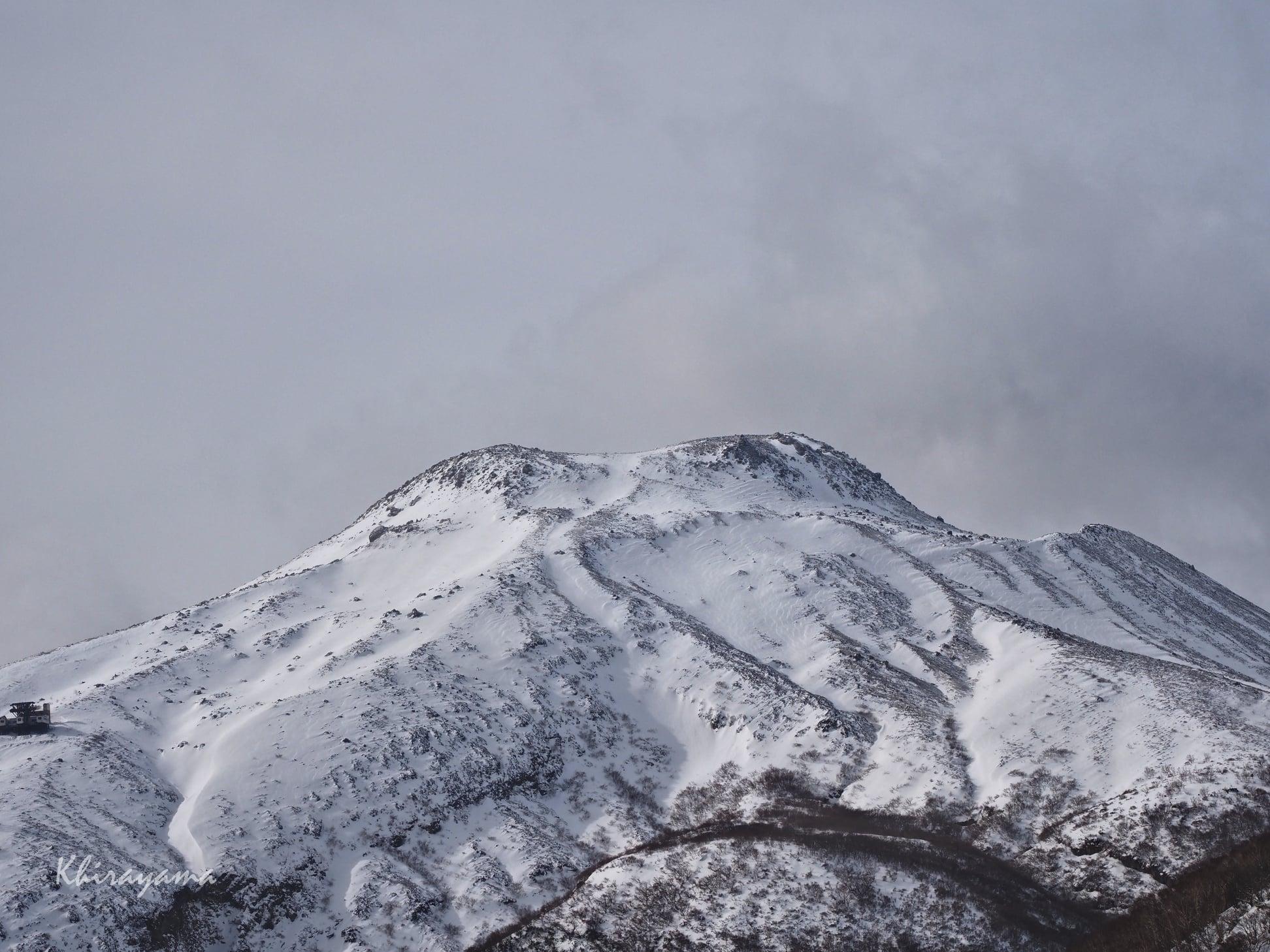 冬本番の那須岳